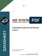 SOMO-II Datasheet R 1 1 Reproductor Mp3