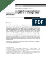 Modernizacion, Dependecia y Maginalidad