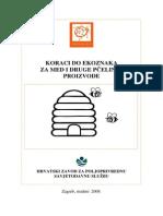 Koraci Do Ekoznaka Za Med i Druge Pcelinje Proizvode