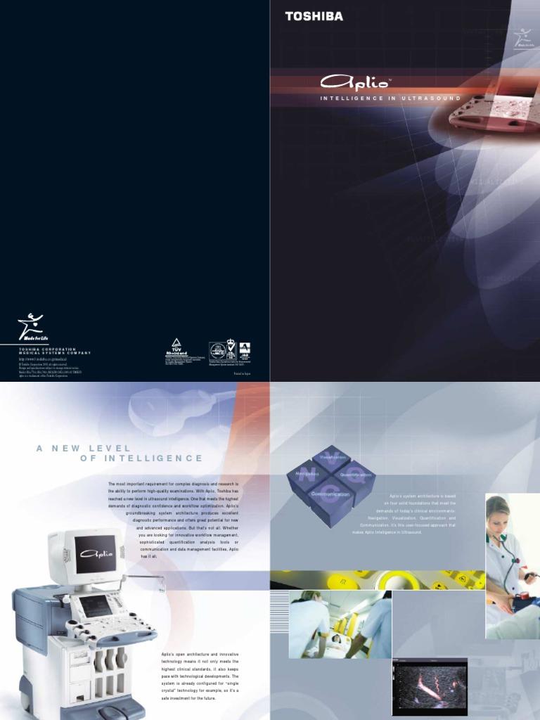 Toshiba aplio ultrasound medical equipment medical imaging toshiba aplio ultrasound medical equipment medical imaging medical ultrasound fandeluxe Gallery