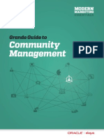 O Eloqua GGuide Community Management