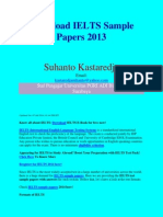 Ielts Sample Paper Pdf