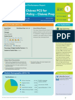 Cesar Chavez PCS for Public Policy - Chavez Prep Performance Report 2013