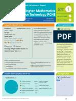 Washington Mathematics Science Technology PCHS Perfromance Report 2013