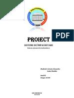 Proiect Sisteme de Impachetare