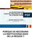 Presentacion Eduardo Verano de La Rosa, Gobernador Del Atlantico