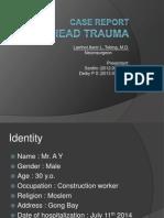 Head Trauma - Case