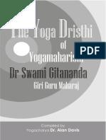 Yoga Drishthi of Swami Gitananda Giri