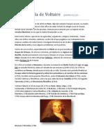 La Biografía de Voltaire