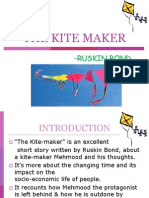 "Ruskin Bonds ""THE KITE MAKER"""