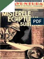041 Andre Michel - Misterul Egiptului Subteran