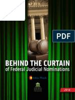 Behind the Curtain of Federal Judicial Nominations