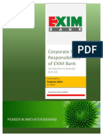 CSR of Exim Bank of Banhladesh