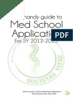 Societas Vitae's Guide to Med School Application