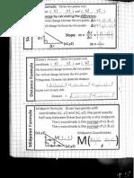 8-26-14 slope distance midpoint formulas