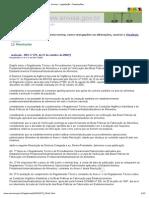 Anvisa - Legislação - Resoluções RDC275