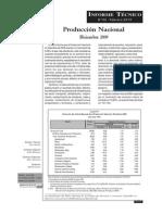 01 Produccion Nacional Dic 2009