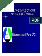 diapositivas emulsiones