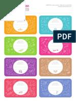 Etiquetas Libros Escolares-1