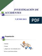 .Curso Investigación de Accidentes
