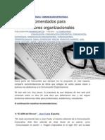 6 Libros Recomendados Para Comunicadores Organizacionales
