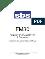 SBS FM30 Manual(29-06-06)