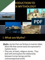 mythology - intro powerpoint