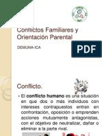 Conflictos Familiares y Orientación Parental
