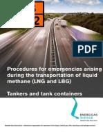 Procedures for Emergencies LNG LBG