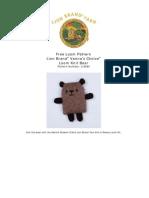 amigurumi leattle bear