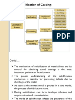 PPT on Solidification