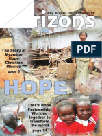 Horizons magazine Jul Sept 2014