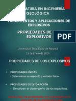 4 - Propiedades de Los Explosivos
