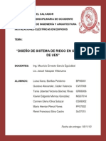 85425030 Proyecto de Riego