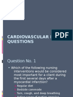 Cardiovascular Review Questions