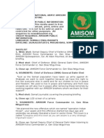 Somali National Army_amisom Joint Press Briefing