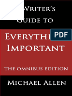 A Writer's Guide to Everything Important_ the Omnibus Edtion - Allen, Michael