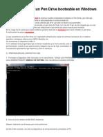 Pasos para crear un Pen Drive booteable en Windows XP.docx
