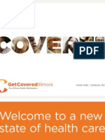 Get Covered Illinois Annual Report 2014