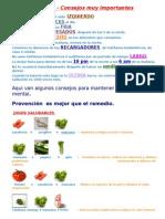 Salud Con Frutas y Colores