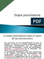 postulacion