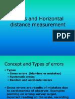 Horizontal Distance Measurement