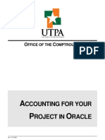 Acctg Project in Oracle Reconciliation