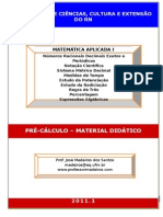 Apostila - Matemática Aplicada I