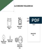 Detalle de Medidores y Reguladores GN