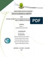 Proyecto Importaciones_IX Semestre