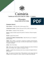 Glossário - Caimária