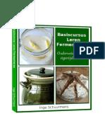 Cursusboek leren fermenteren