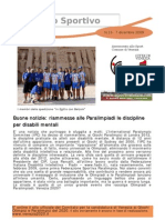 Newsletter 13 - 7 Dicembre
