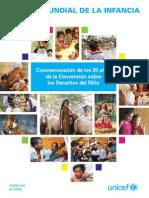 & Estado Mundial de La Infancia Edicion Especial Conmemoracion